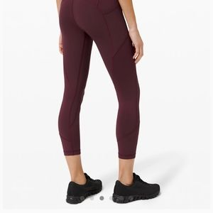 Lululemon All The Right places leggings crop 23""